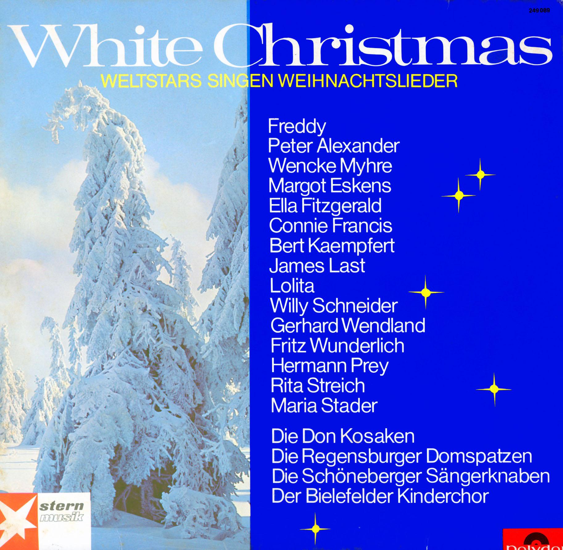 Disney Weihnachtslieder.Cd Weltstars Singen Weihnachtslieder White Christmas
