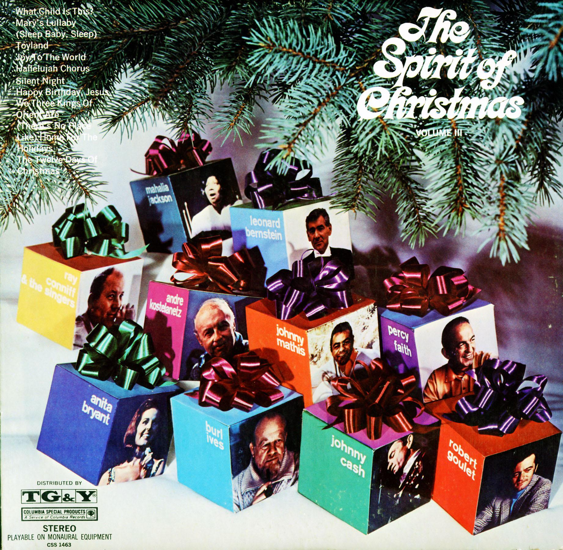Spirit Of Christmas Tg Amp Y Volume 3 Css1463 Christmas