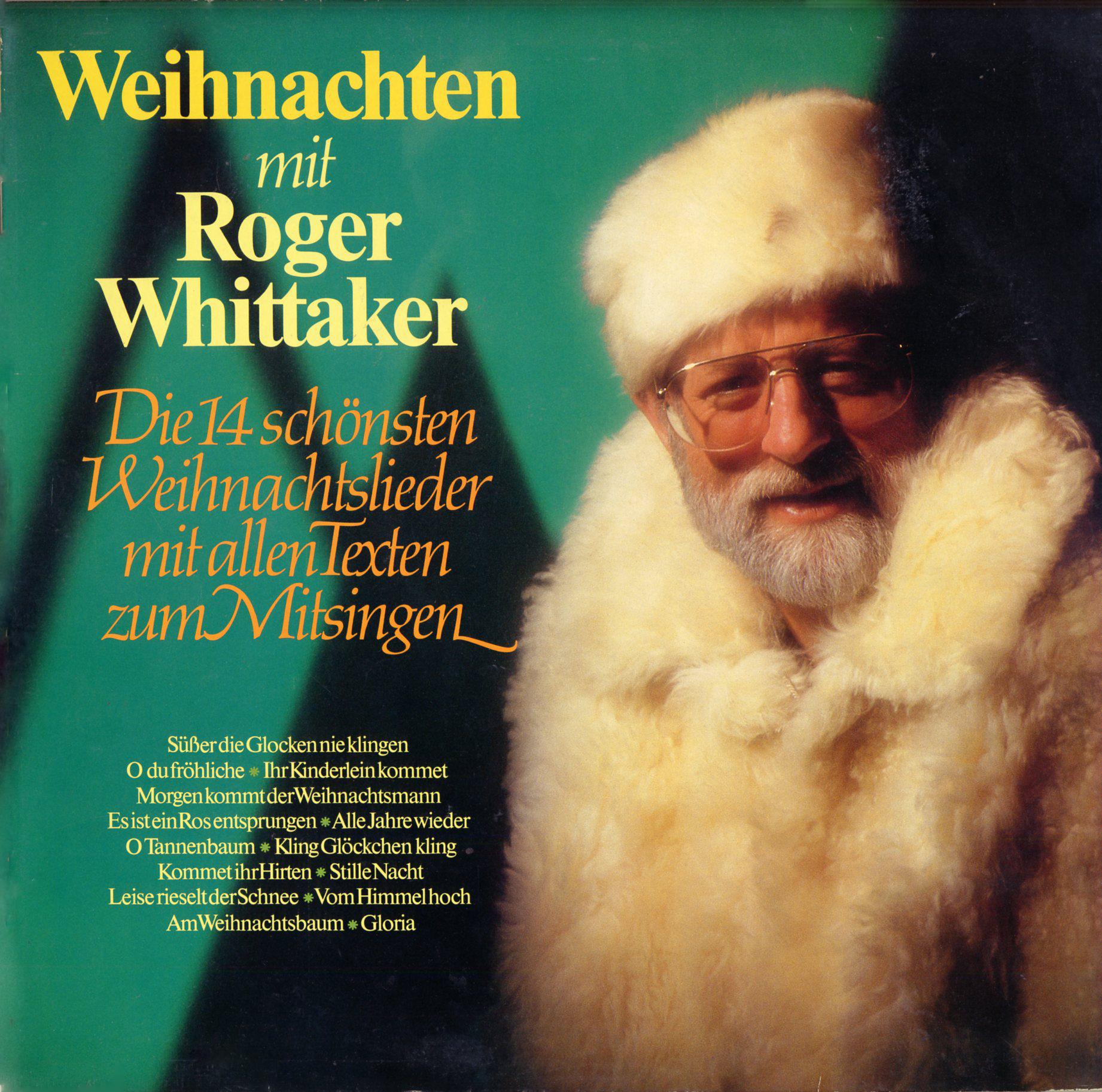 Whittaker, Roger. Weihnachten mit. Avon Records. (Int161553 ...