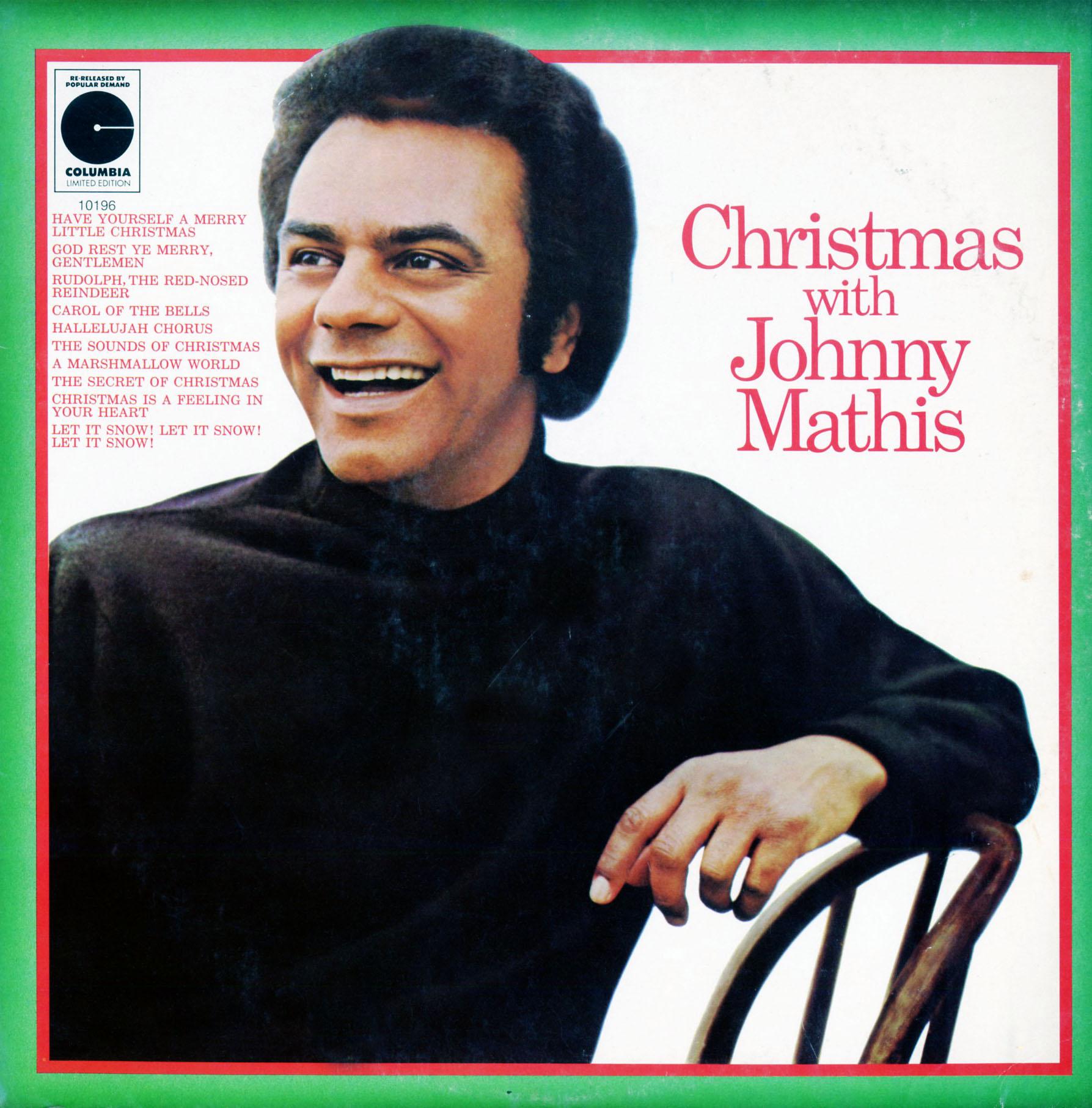Mathis, Johnny. Christmas with (SR60837, MG20837) - Christmas Vinyl ...