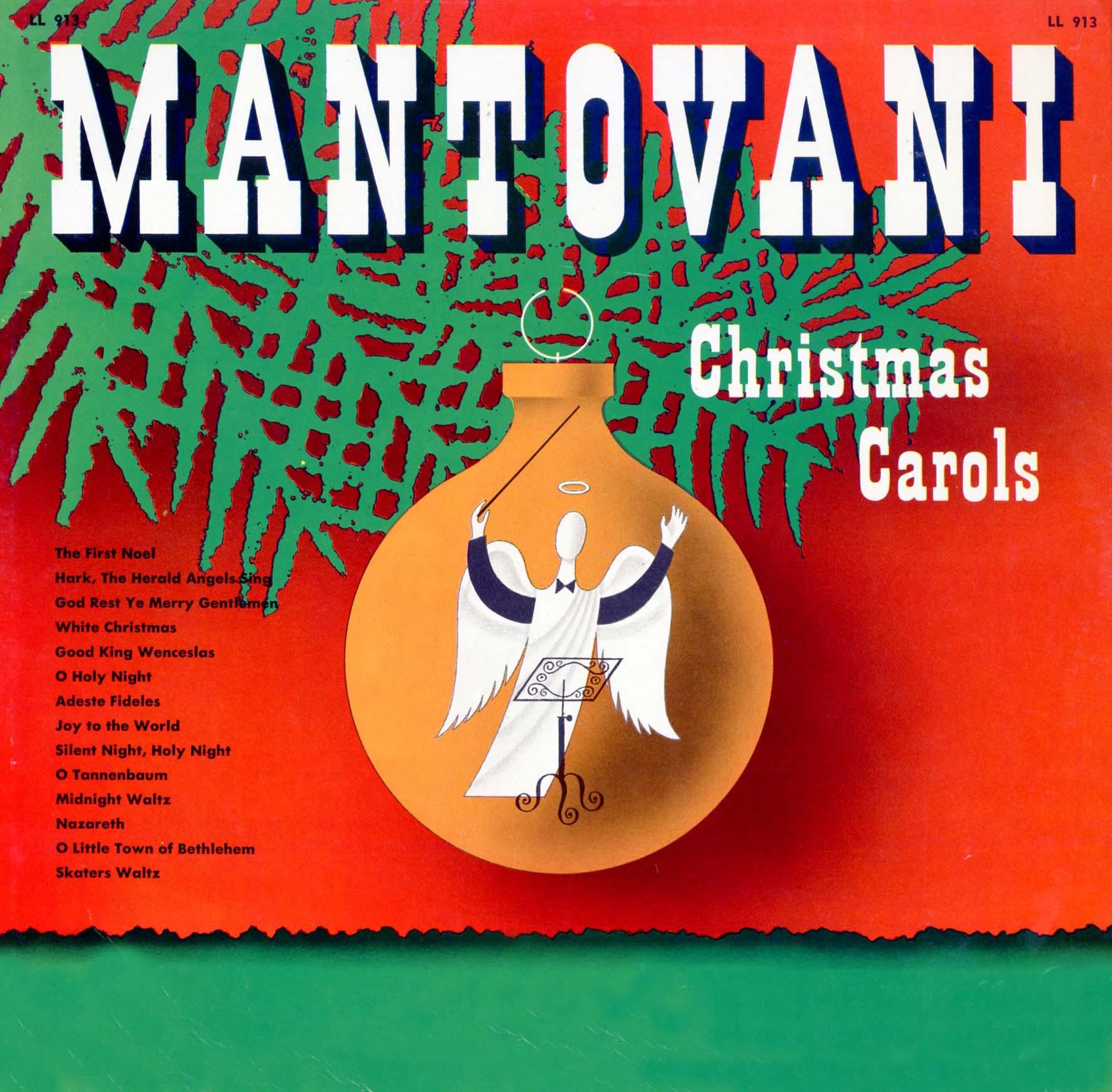 Mantovani Christmas Carols Mantovani Ll913 Ps142