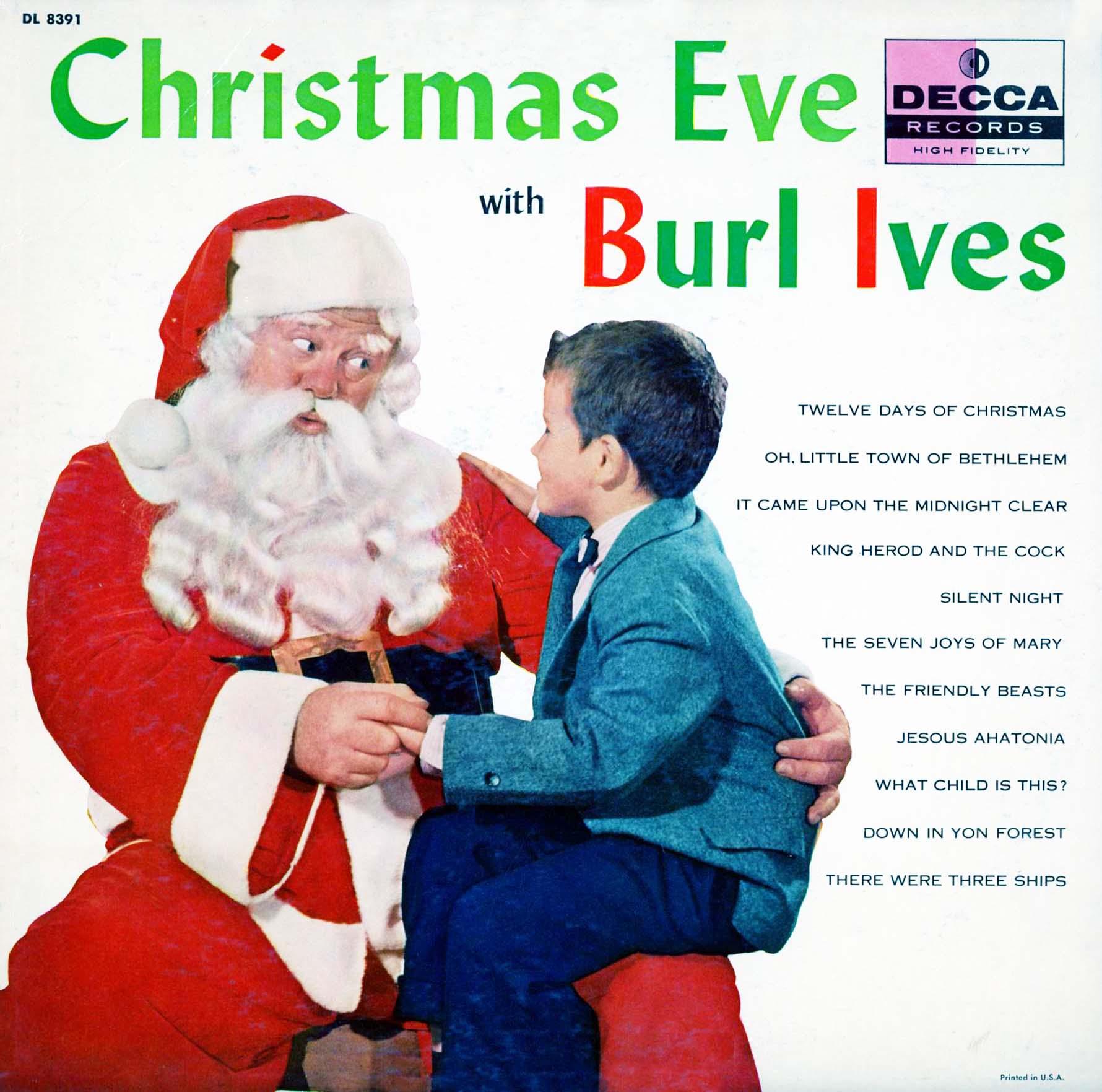 Burl Ives Christmas.Cd Ives Burl Christmas Eve