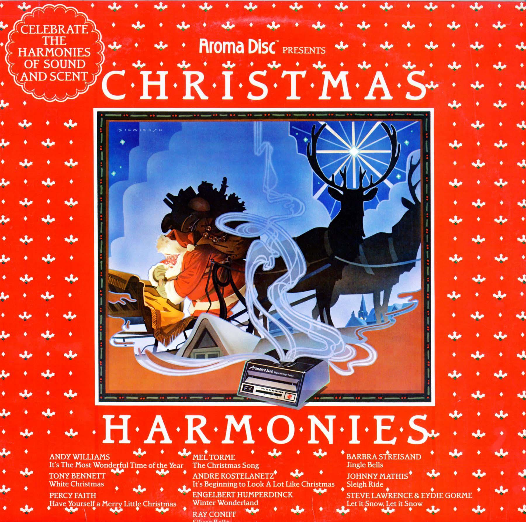 Aroma Disc. Christmas Harmonies. (Q18403) - Christmas Vinyl Record ...