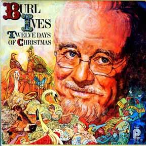 LP - Ives, Burl Twelve Days of Christmas