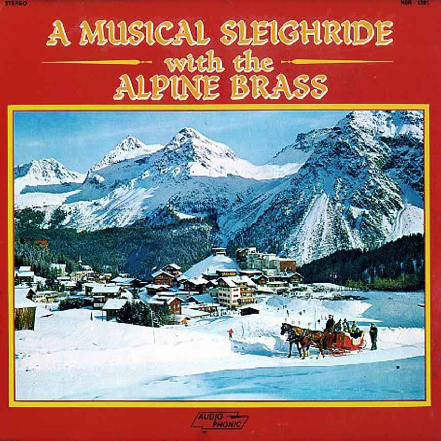 CD - Alpine Brass - Musical Sleighride