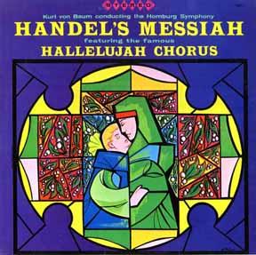 CD - Baum, Kurt von Hamburg Symphony Handel's Messiah