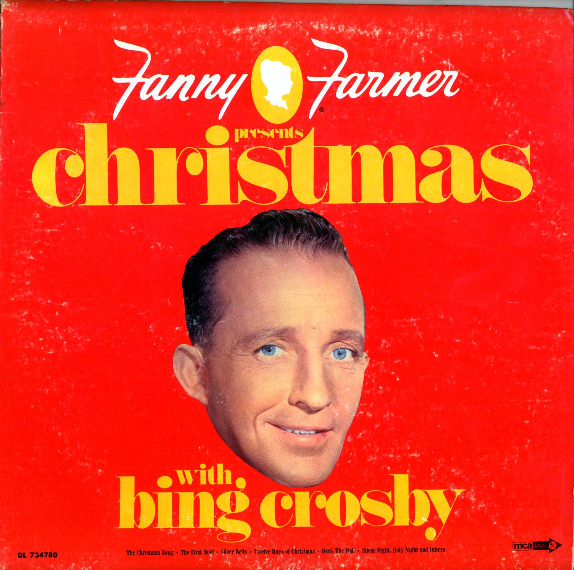 CD - Crosby, Bing - Christmas With by Fanny Farmer