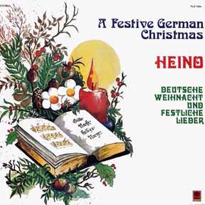LP - Heino-Festive German Christmas Deutsche Weihnacht Und Festliche Lieder
