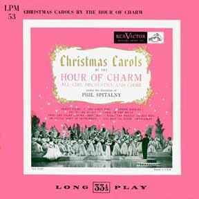 LP - Hour of Charm Christmas Carols All-Girl Orchestra & Choir