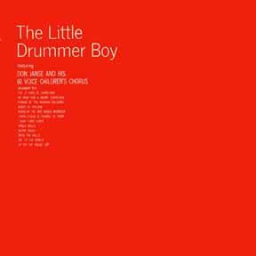 Janse, Don - Little Drummer Boy LP