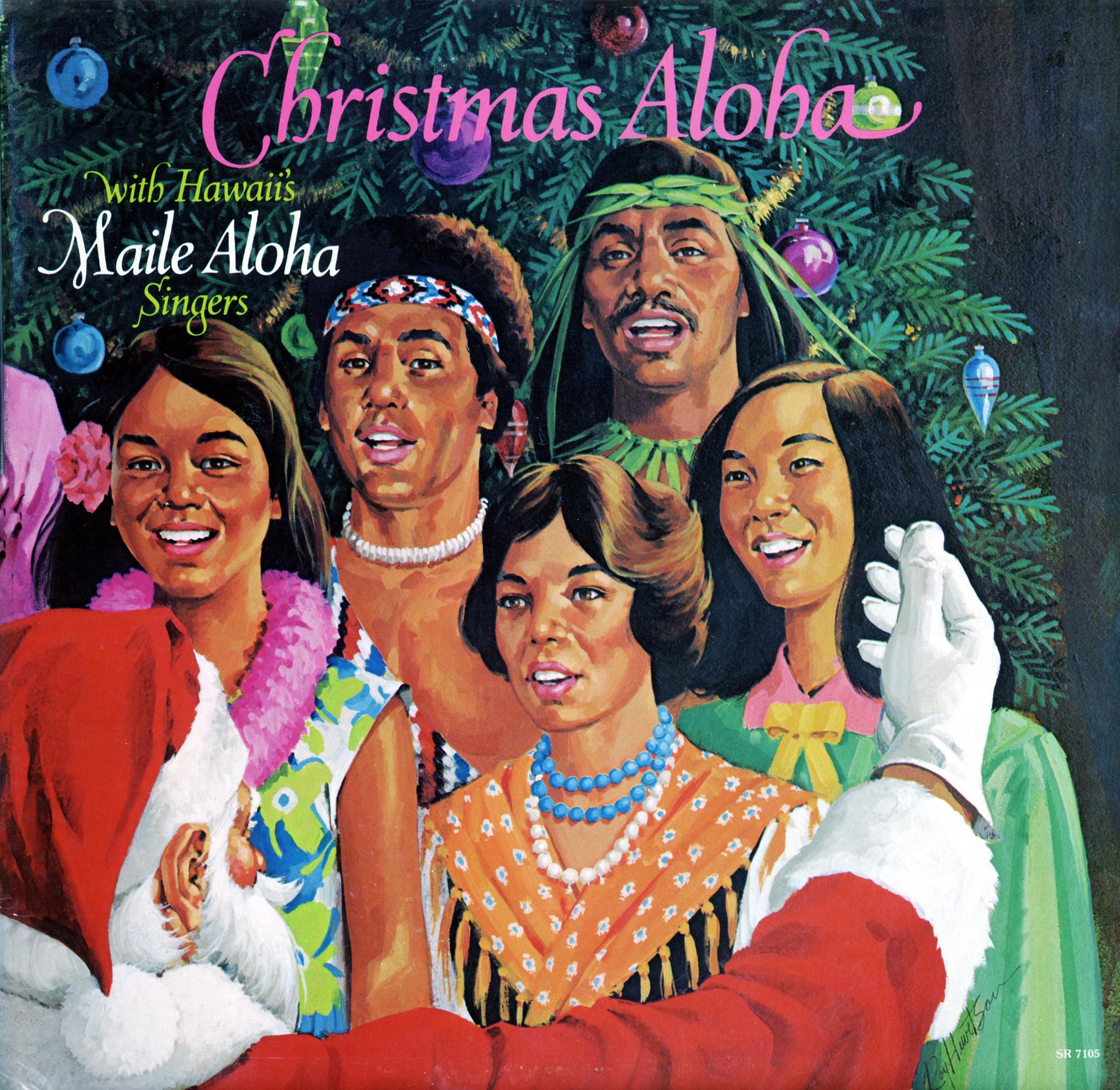 LP - Maile Aloha Singers Christmas Aloha