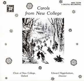 LP - New College Oxford Carols
