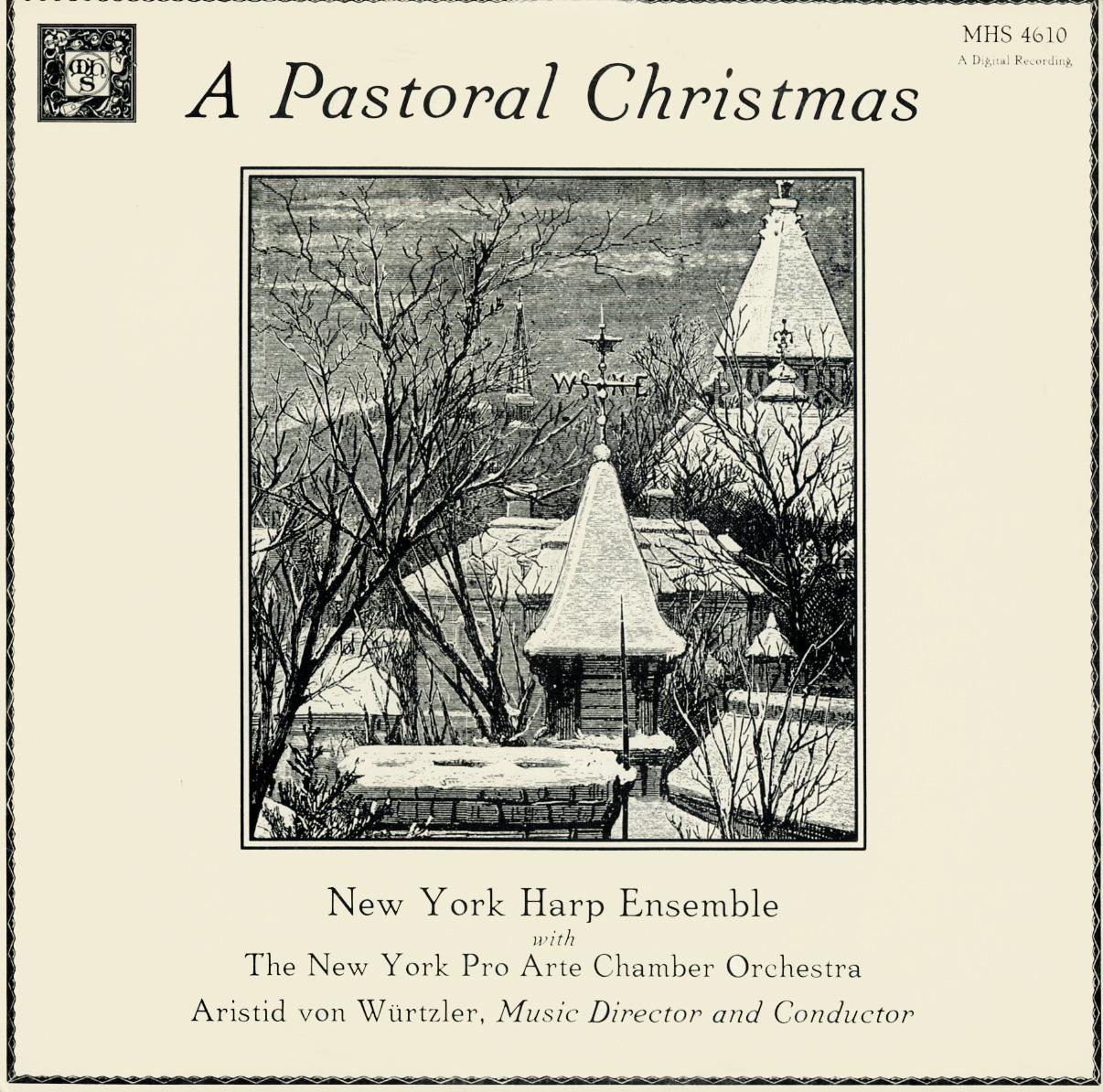 CD - New York Harp Ensemble Pastoral Christmas