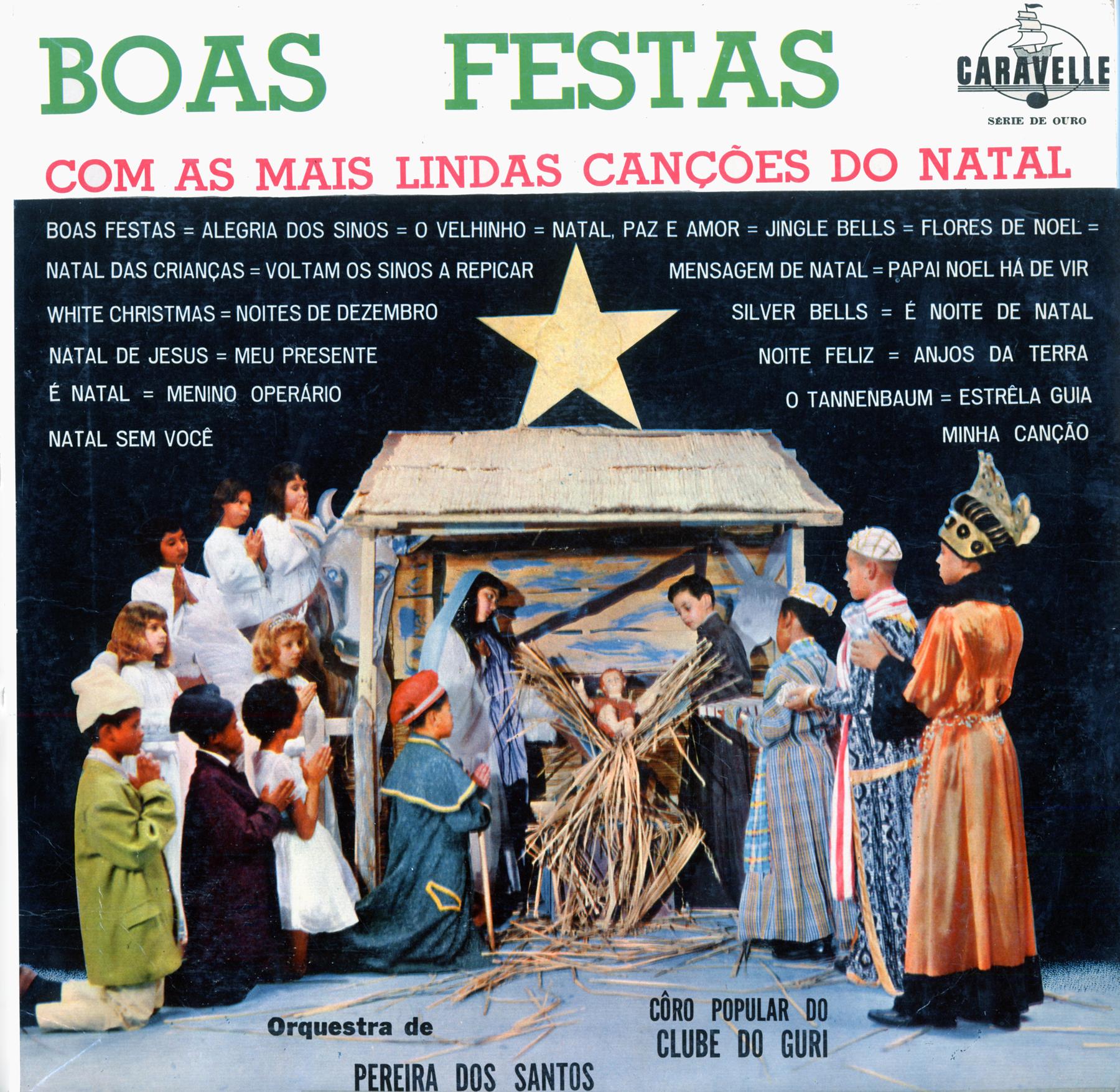 LP - Pereira Dos Santos Orquestra - Boas Festas