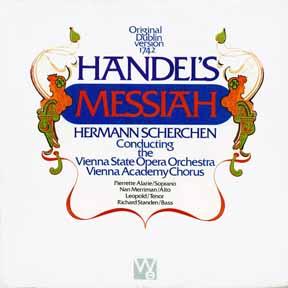 CD - Scherchen, Hermann Vienna State Opera Vienna Academy Chorus Messiah