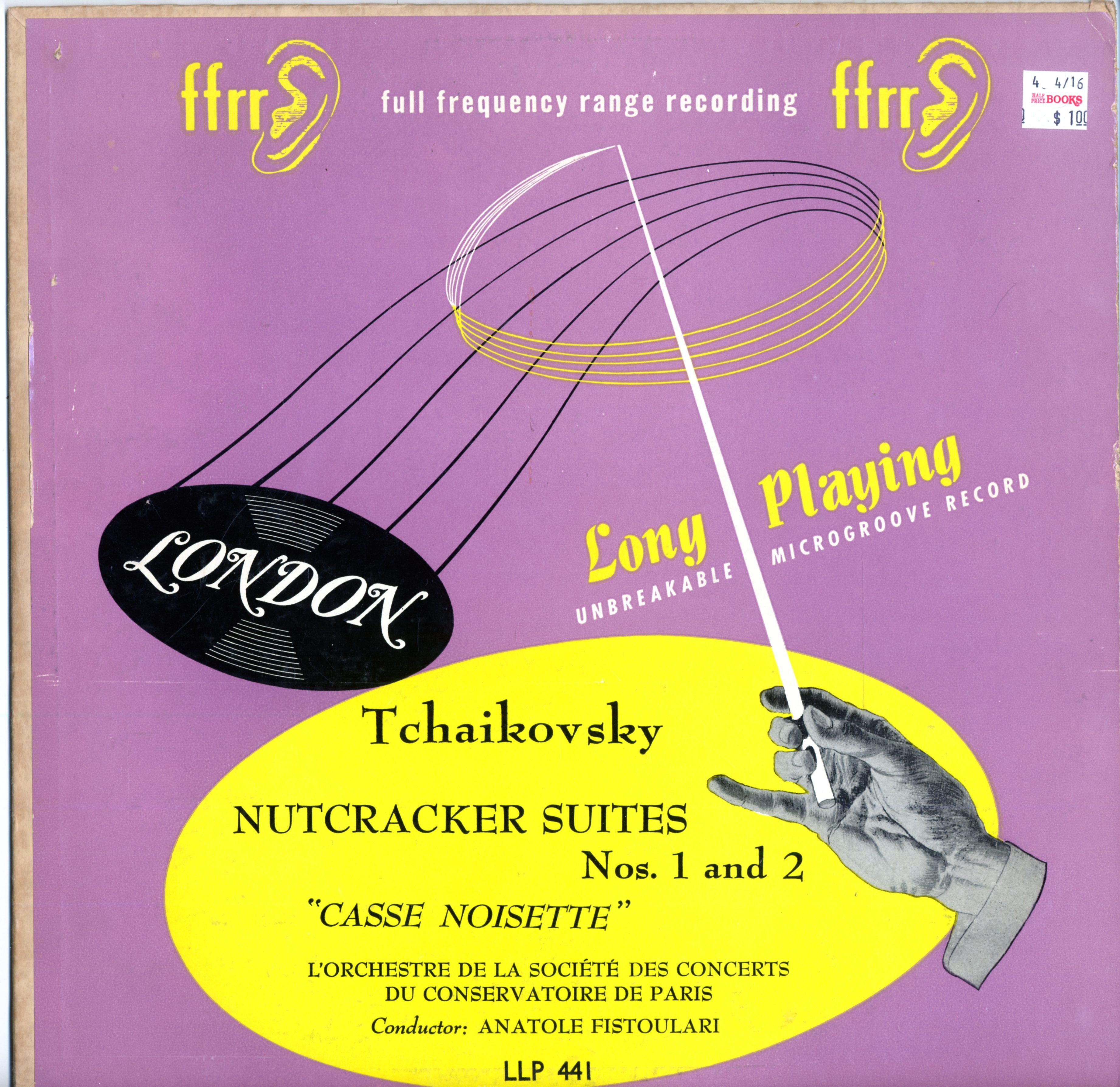 """LP - Societe des Concerts du conservatoire de Paris Nutcracker Suites """"Casse Noisette"""""""