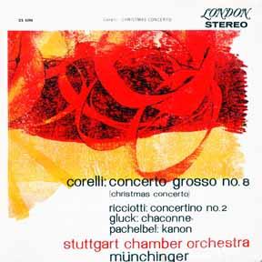 LP - Stuttgart Chamber Orchestra Corelli: Concerto Grosso No. 8