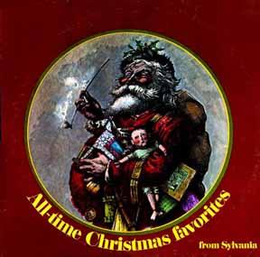 LP - Sylvania All-time Christmas Favorites