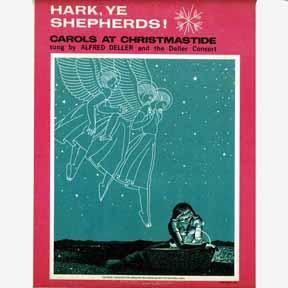 LP - Deller Consort Alfred Deller Hark, Ye Shepherds!