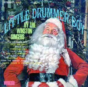 LP - Winston Singers Little Drummer Boy Wyncote