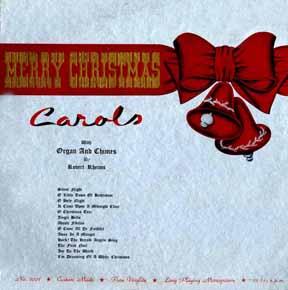 LP - Rheims, Robert Merry Christmas Carols