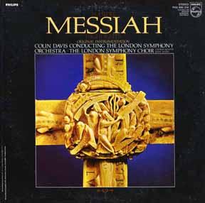 CD - London Symphony Davis, Colin Messiah