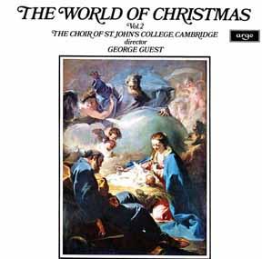 LP - St John's College Choir, Cambridge World of Christmas Vol 2