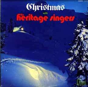 LP - Heritage Singers Christmas