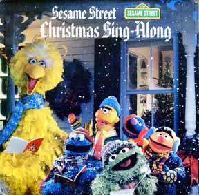 LP - Sesame Street Christmas Sing-Along