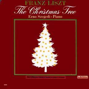 CD - Szegedi, Erno Christmas Tree Franz Liszt