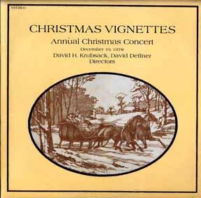 LP - Krubsack, David H David Deffner Christmas Vignettes