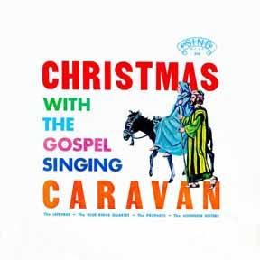 CD - Lefevres Blue Ridge Quartet Christmas with the Gospel Caravan